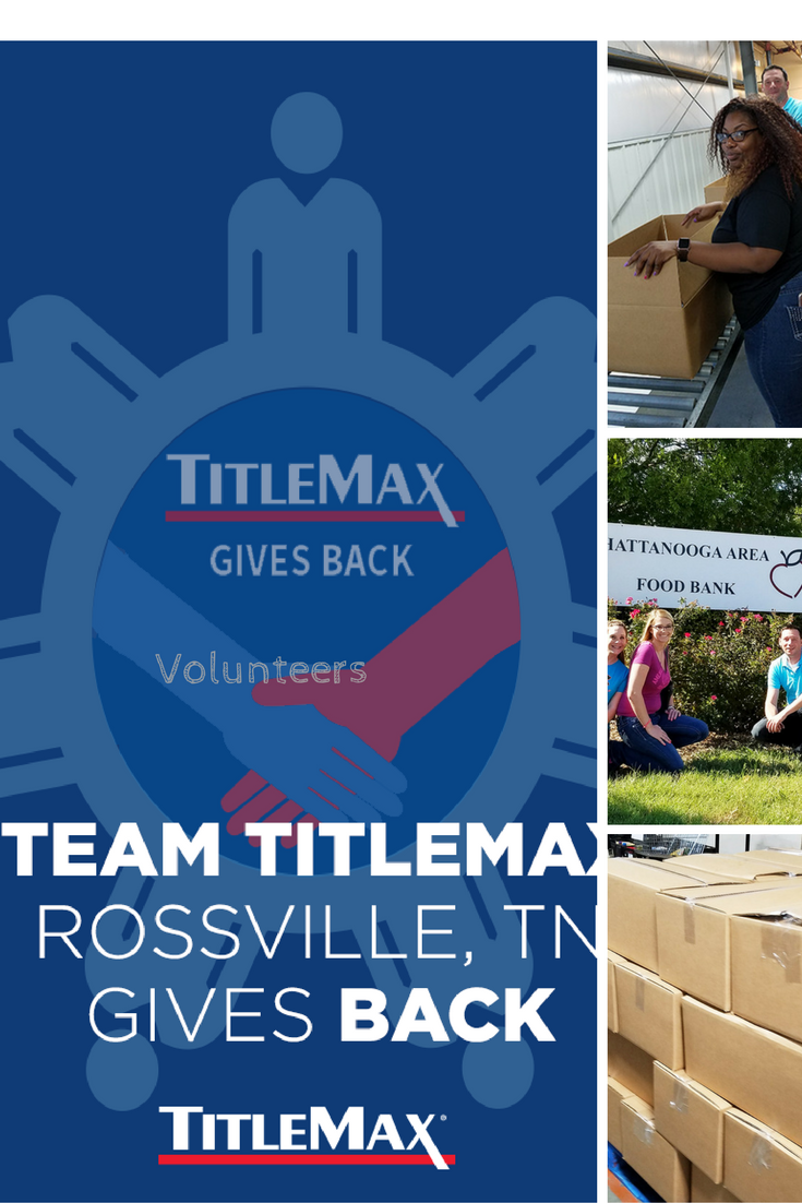 Awesome Job TitleMax, Rossville TN. Spending the day
