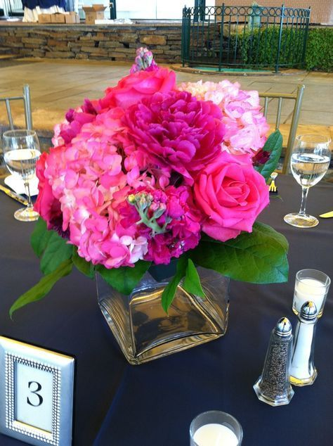 Wedding centerpieces hydrangea pink table settings 52+ ideas for 2019 Wedding centerpieces hydrange