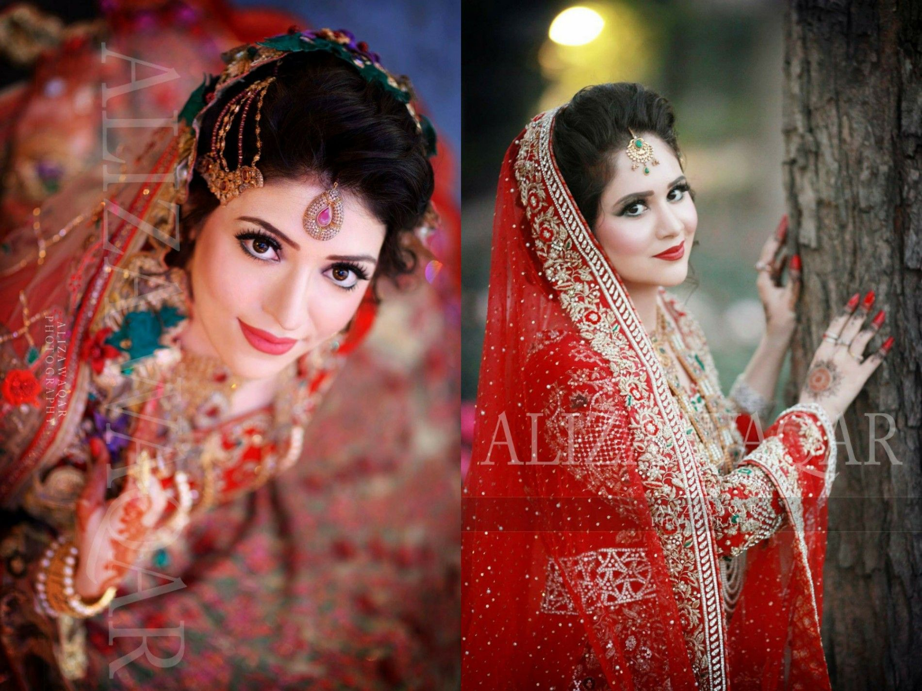 Photography by Aliza waqar | Wedding photography of Barat brides