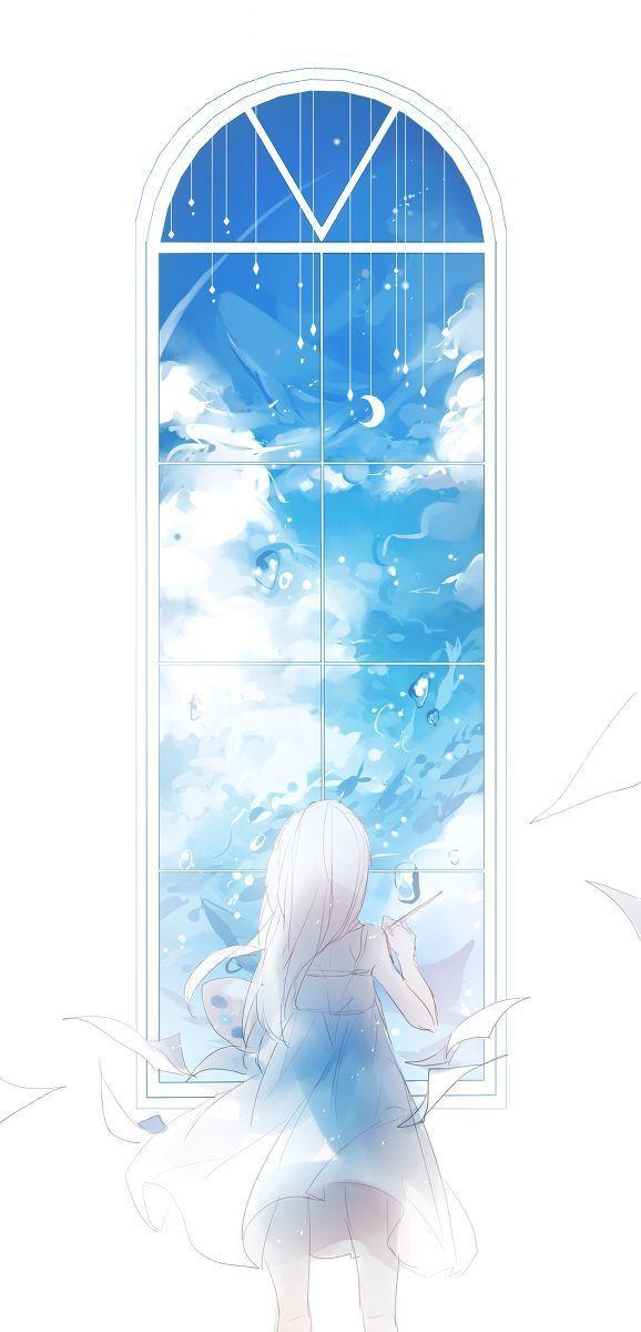 [Sưu tầm] Xả ảnh - Anime cô gái quay lưng