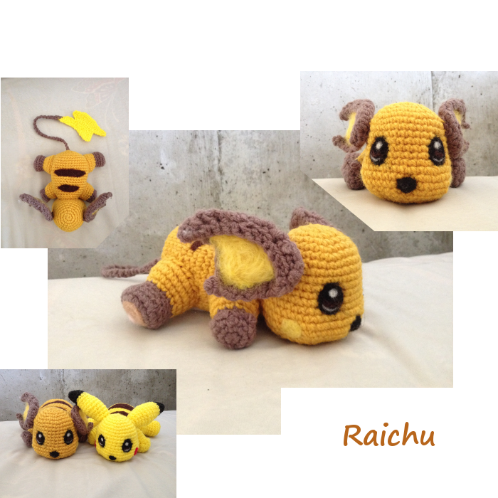 Amigurumi-raichu by Caterpillor | How2/Pattern: Plushies & Toys ...