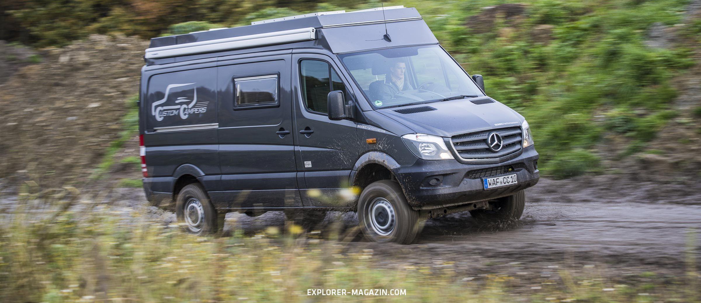 Mercedes Sprinter 4X4 Wohnmobil