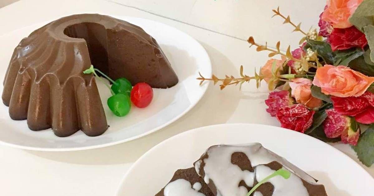 Resep Puding Brownies Oleh Moona S Kitchen Resep Makanan Resep Masakan Indonesia Puding