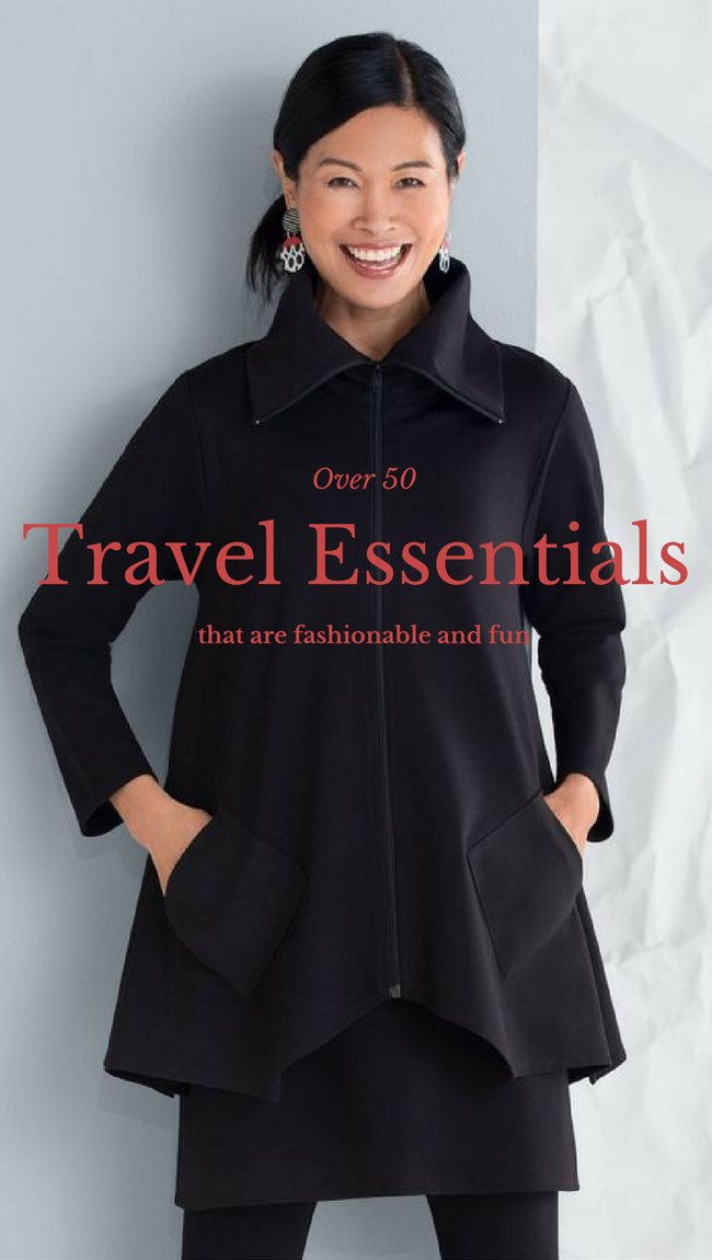 How to Rock an Over 50 Travel Wardrobe-Part 3 #over50
