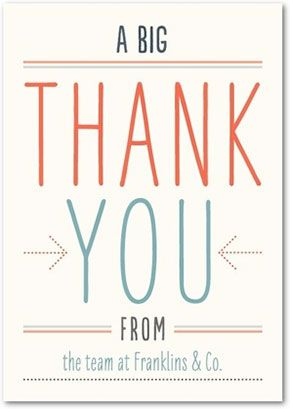 Business Thank You Card Template  Google Search  Thank You Cards