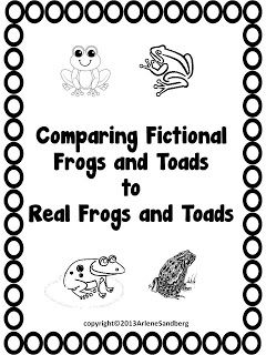 LMN Tree: Frogs and Toads: Free Resources and Free Writing