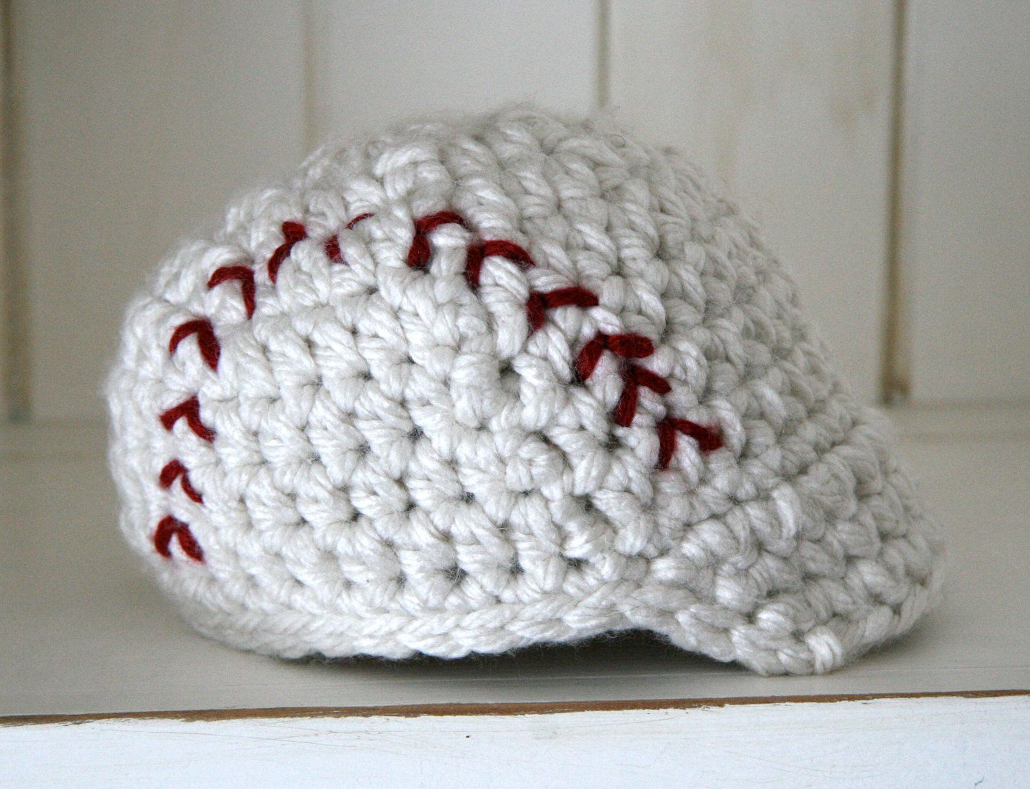 Photo Prop Baseball Beanie with brim by cottoncorner on Etsy, $19.50 ...