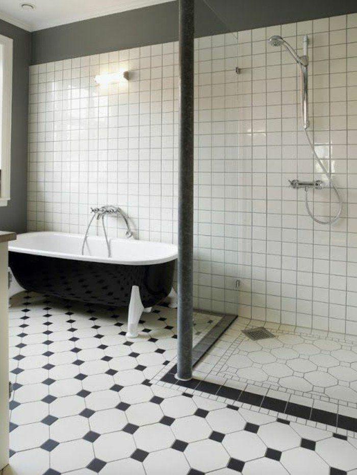 Le Carrelage Damier Noir Et Blanc En 78 Photos Carrelage Salle