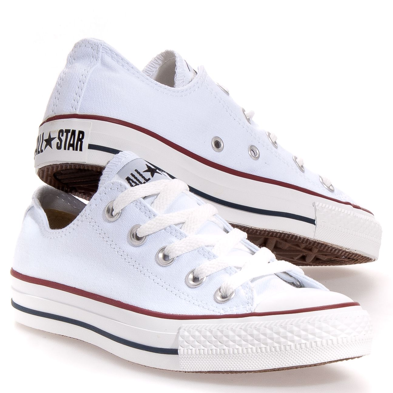 converse all star blanche fille