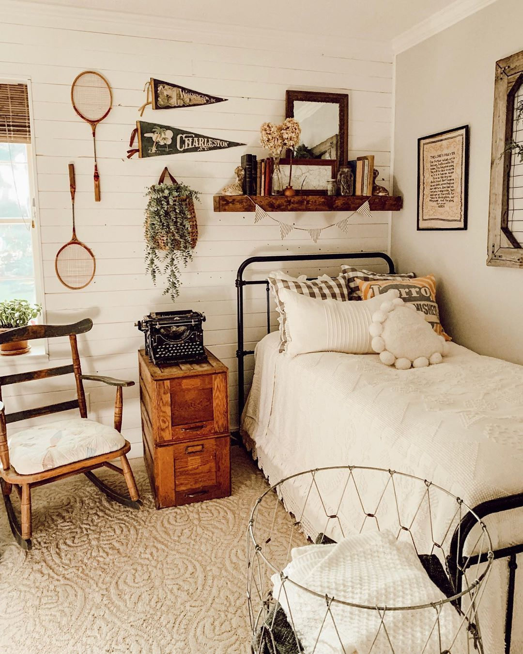 Farmhouse Bedroom Cozy Bedroom Guest Bedroom Simple Bedroom Decor Neutral Bedroom Vintage Bedro Western Bedroom Decor Simple Bedroom Decor Simple Bedroom