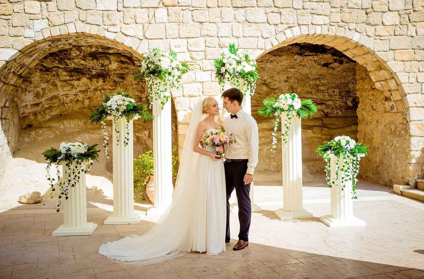 Wedding In Aphrodite Gardens Paphos Cyprus