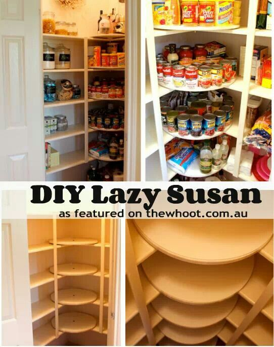 genius the corners in my walk in pantry are useless pantry ideaskitchen - Diy Kitchen Pantry Ideas