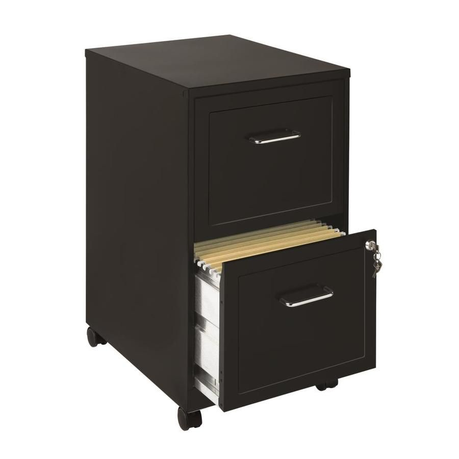 Office Designs Space Solutions Black 2 Drawer File Cabinet 16872 In 2020 Filing Cabinet Mobile File Cabinet Drawer Filing Cabinet