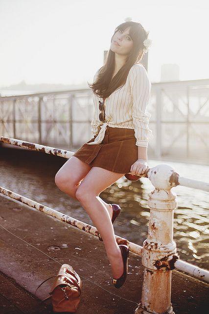 Carrie is so gorgeous!  via wishwishwish