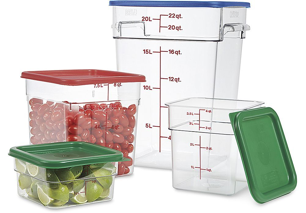Food Storage Containers Cambro Brand Food Storage Containers Food Storage Storage Containers
