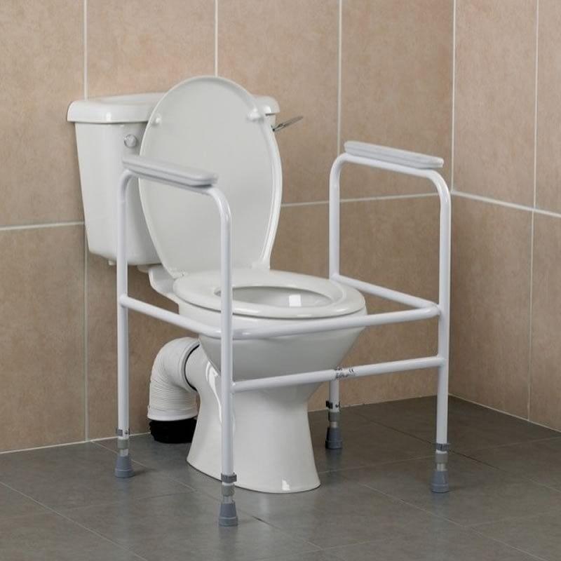 Superb Free Standing Toilet Frame This Piece Of Simple Equitment Creativecarmelina Interior Chair Design Creativecarmelinacom