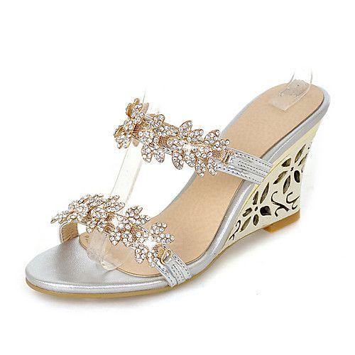 Zapatos plateado con elástico Find para mujer nsHJe