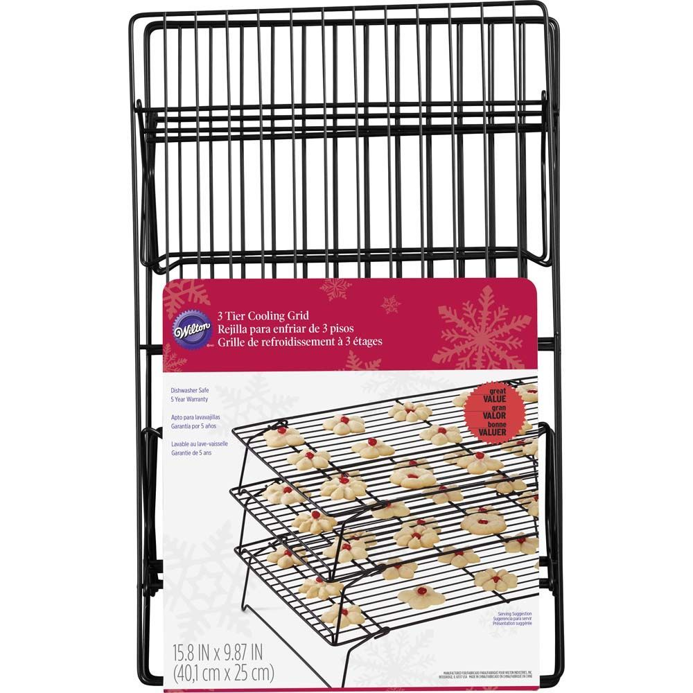Recipe Right Non Stick Cooling Rack 3 Tier Baking Accessories