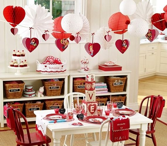 Valentineu0027s Day Table Settings