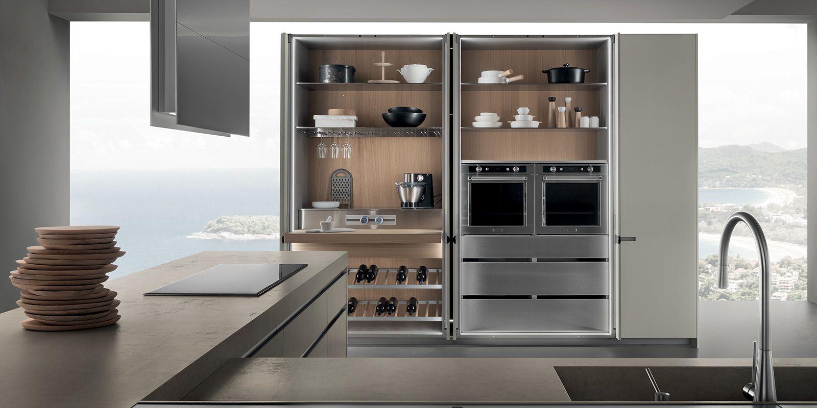 Emejing Cucine Con Ante Scorrevoli Ideas - harrop.us - harrop.us