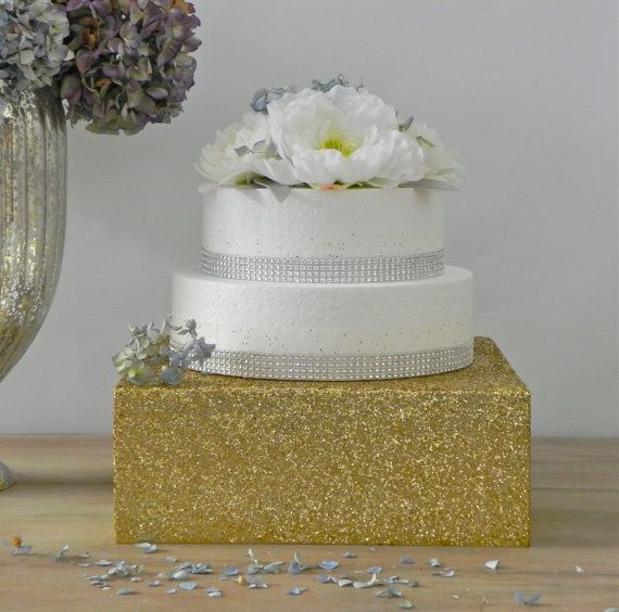 gold bling for wedding cakes 22 quot wedding cake stand bling gold glitter wedding birthday 14746