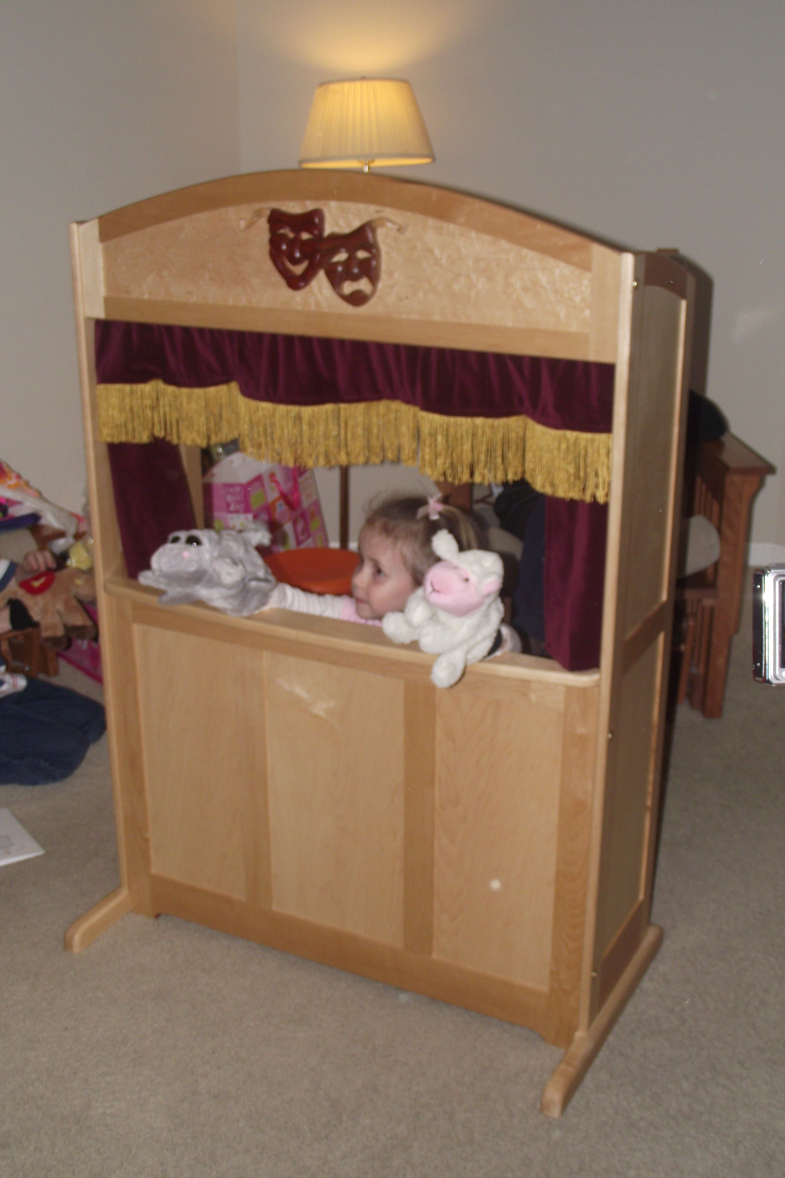 """The """"Veronica"""" Puppet Theater Puppet theater, Puppets"""
