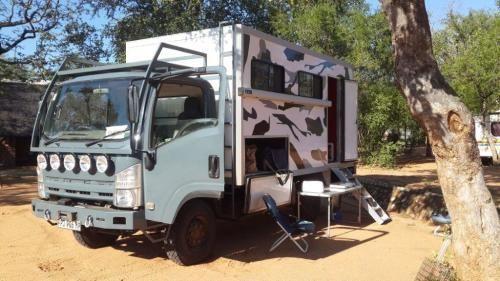 Buy 2012 Isuzu Nps 300 4x4 Camper Truck For R750 000 00