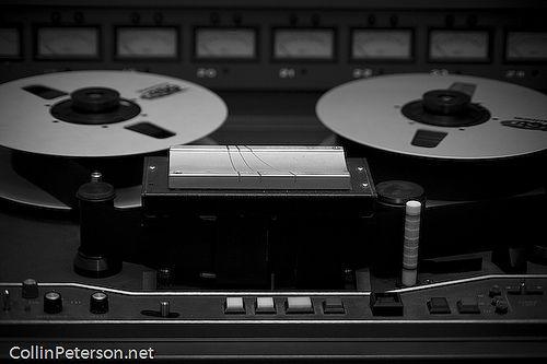 JH-24 - Analog Tape Machine - Creative Caffeine Studio by Collin_Peterson, via Flickr