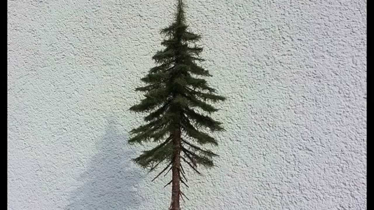 Building Realistic Model Trees Part 2 Spruceconifer