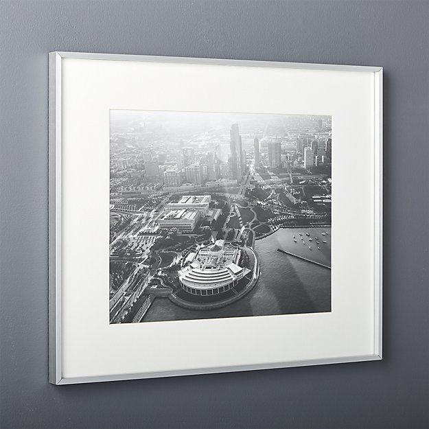 gallery brushed silver 16x20 picture frame | Pinterest | 16x20 ...