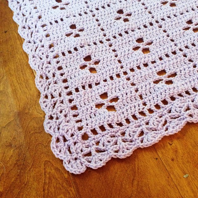 The Midwife Blanket Pattern By Rebecca Langford Crochet Crochet
