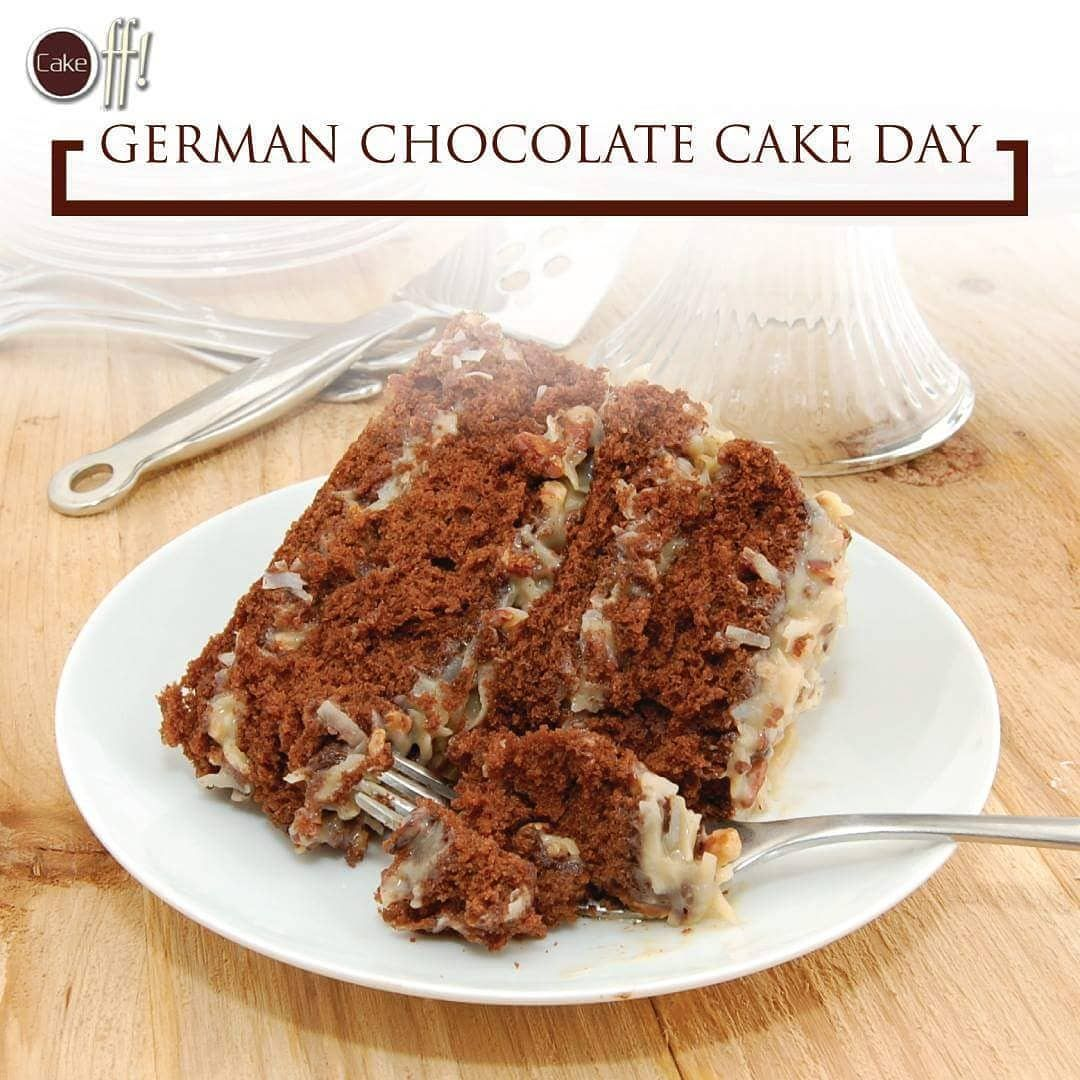 Start Your Day On A Sweet Note On National German Chocolate Cake Day All Chocolate Lovers Today Have One More Reason To Indulge In Their Favorite Treats V In 2020