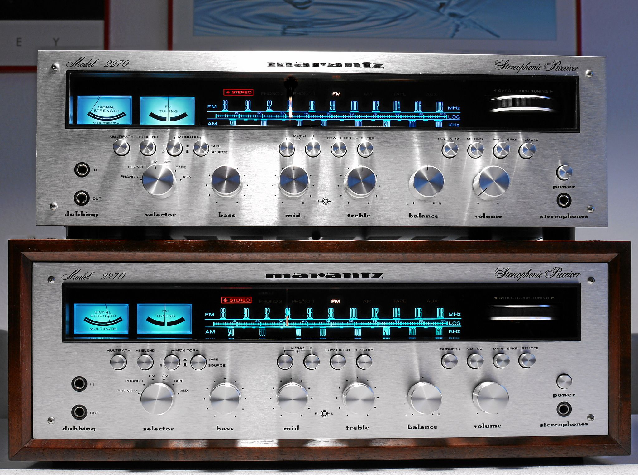 Marantz 2270 Stereo Receiver in 2019   Vintage   Hifi audio