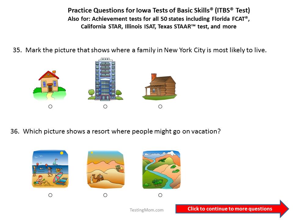 Free OLSAT Level B (1st Grade) Sample Test - TestPrep-Online ...