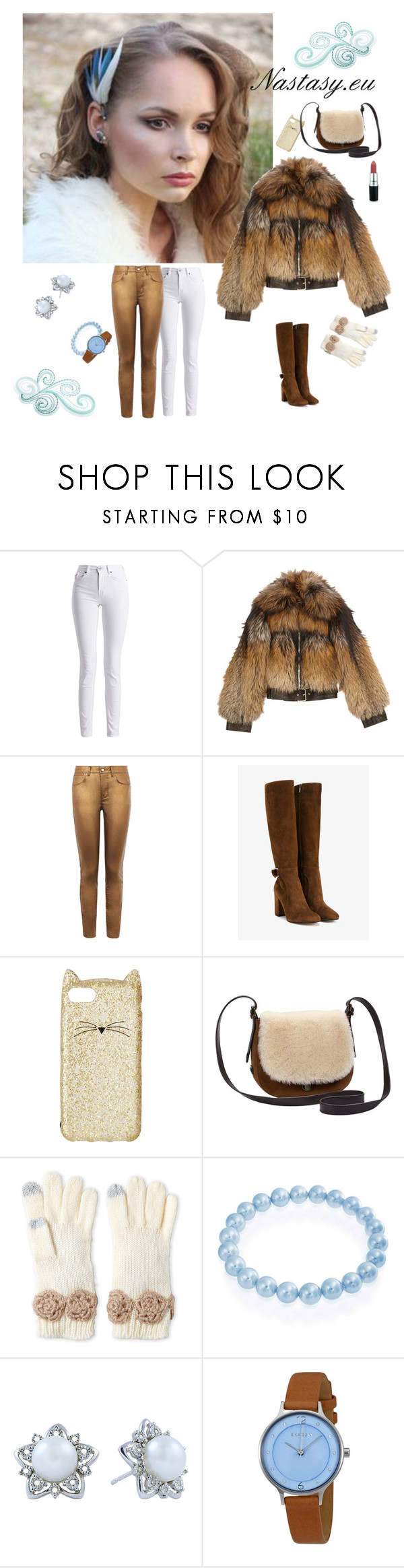 """Fresh Mix ♥"" by nastasy-eu ❤ liked on Polyvore featuring Barbour International, Alexander McQueen, Karen Millen, Gianvito Rossi, Kate Spade, UGG, Betsey Johnson, Bling Jewelry, Skagen and Winter"