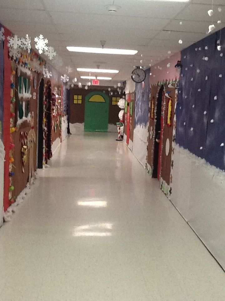 Our Hallway At School For Christmas The Kids Loved It
