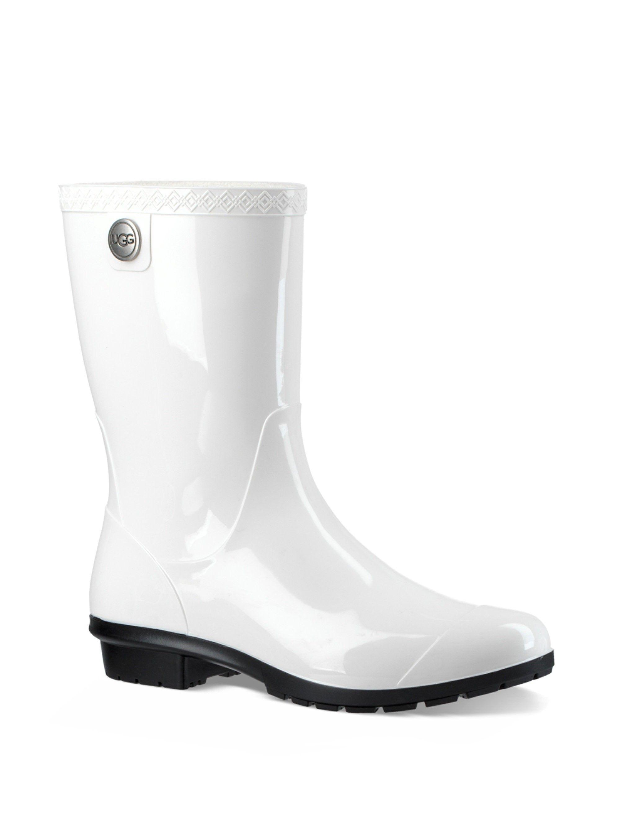 8d32c2b88b5 Ugg Australia Sienna Rain Boots - White 37 (7)   Products   Boots ...