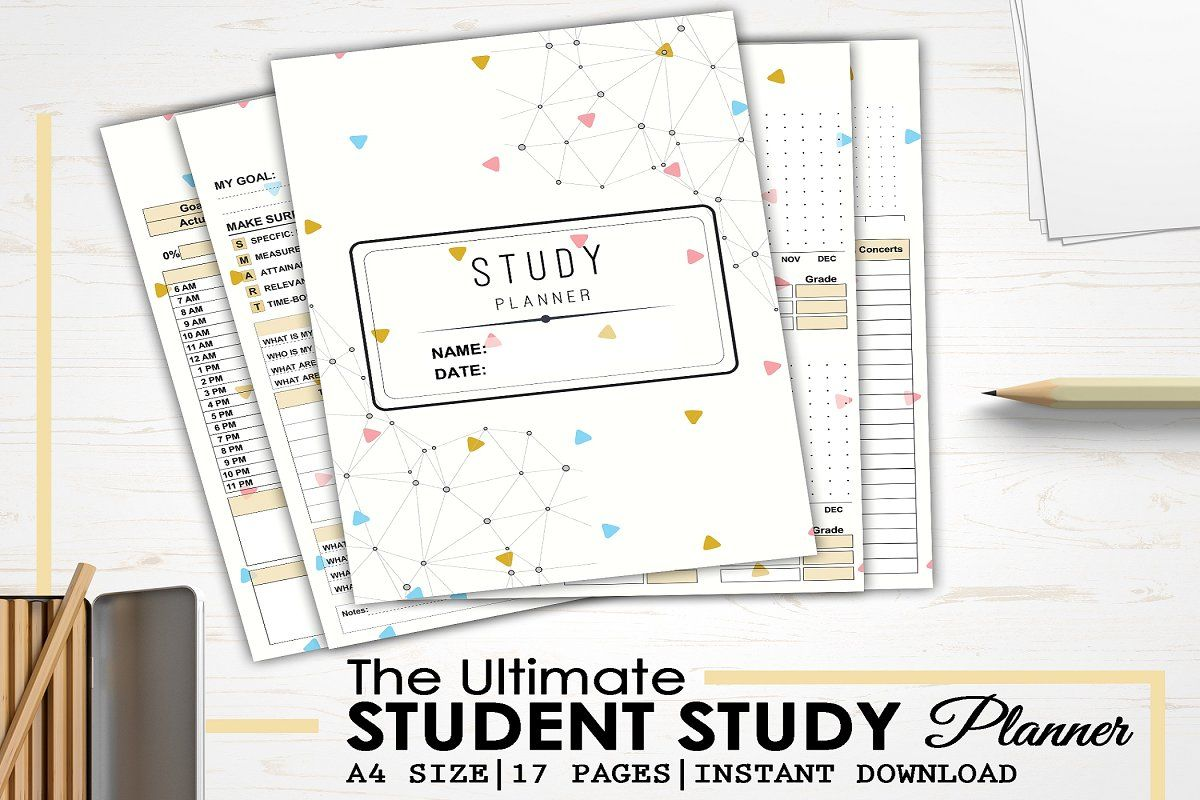 Student Study Planner In