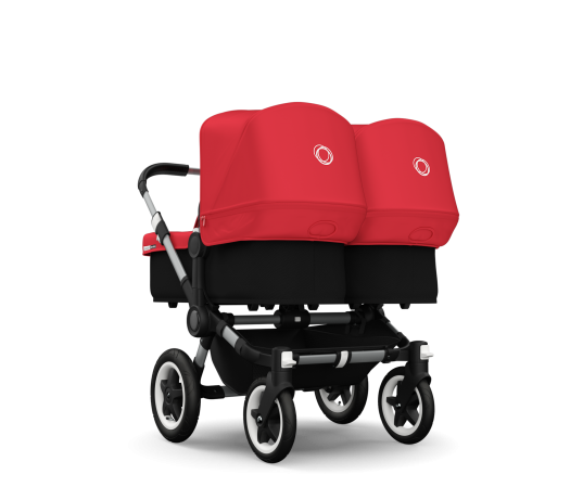 Going Out With Twins Is Easy With The Bugaboo Donkey Which Ensures The Smoothest Of Rides For Bo Twin Strollers Bugaboo Donkey Twin Bugaboo Stroller