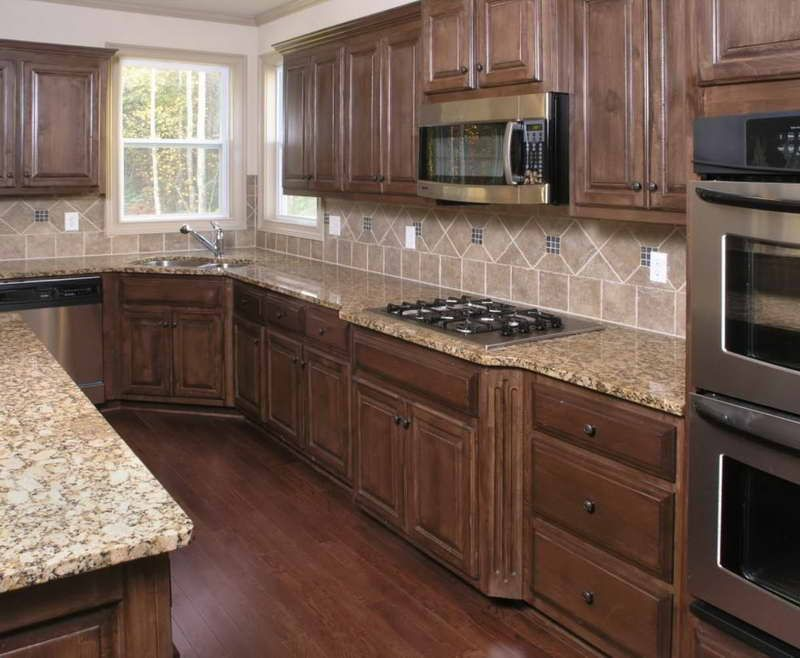 pictures of kitchen cabinets with wood floors | decor ideas