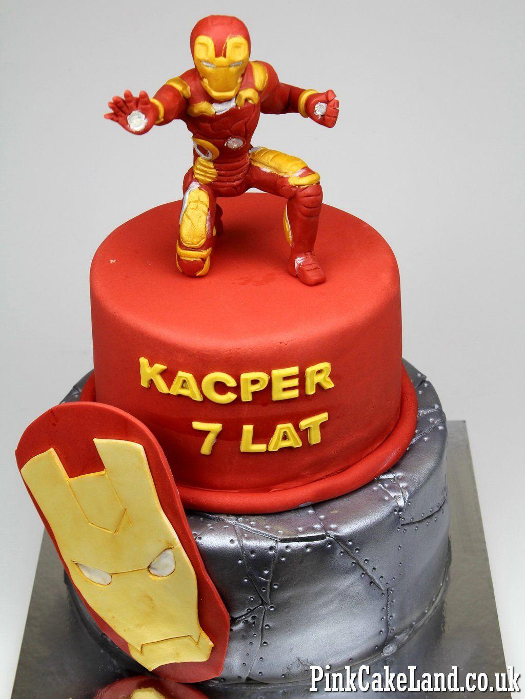 Iron Man Birthday Cake londoncakes ironman childrens party