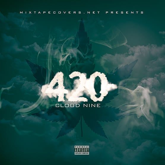 420 Is Right Around The Corner Get This Mixtape Templaate