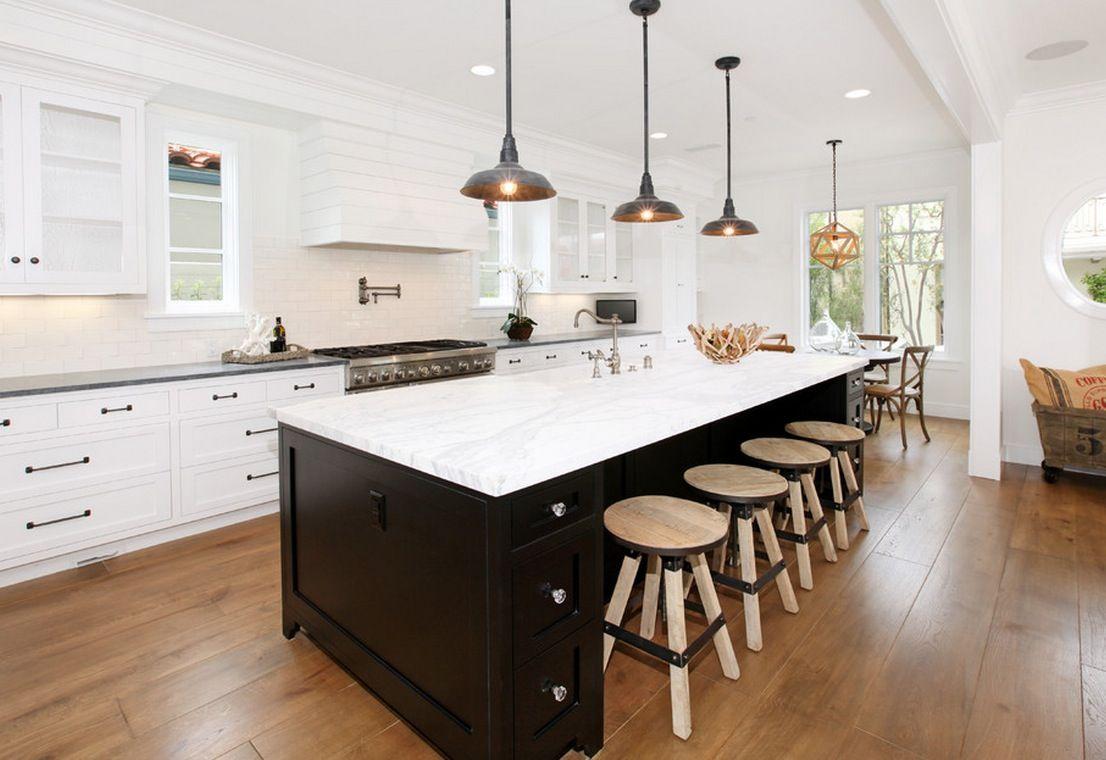 Beleuchtung ideen über kücheninsel kitchen lighting ideas  dream kitchens  pinterest  innenräume