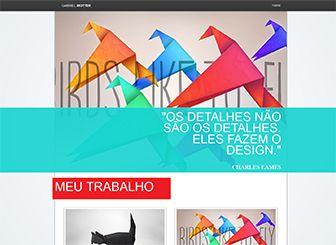 Portfólio Criativo Template | WIX