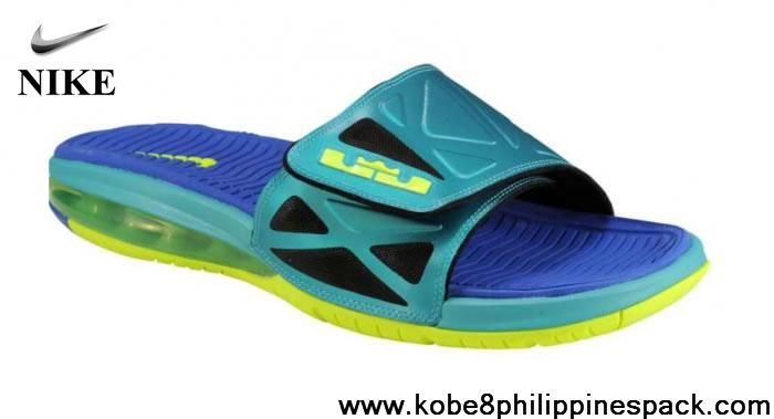 70872a214040 Nike Air LeBron 2 Slide Elite Sport Turquoise Newest Now