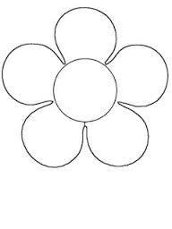 Resultado De Imagem Para Flor Desenho 5 Petalas Flores Folhas