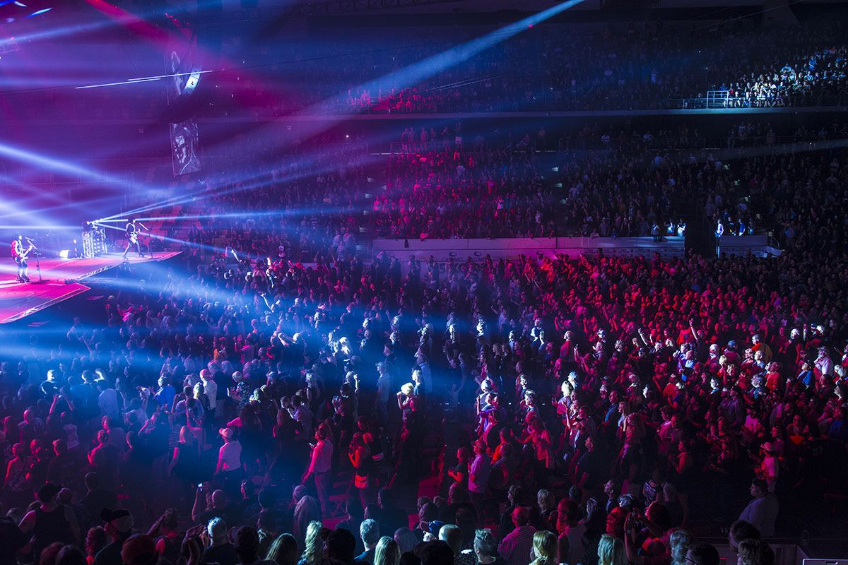 Another Rockin Concert At Amsoil Arena Decc Duluth Mn Photo