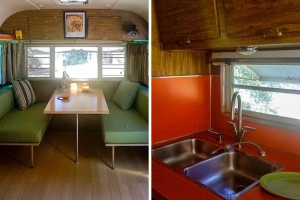 Two Classic Travel Trailer to Micro Cabin Conversions Travel