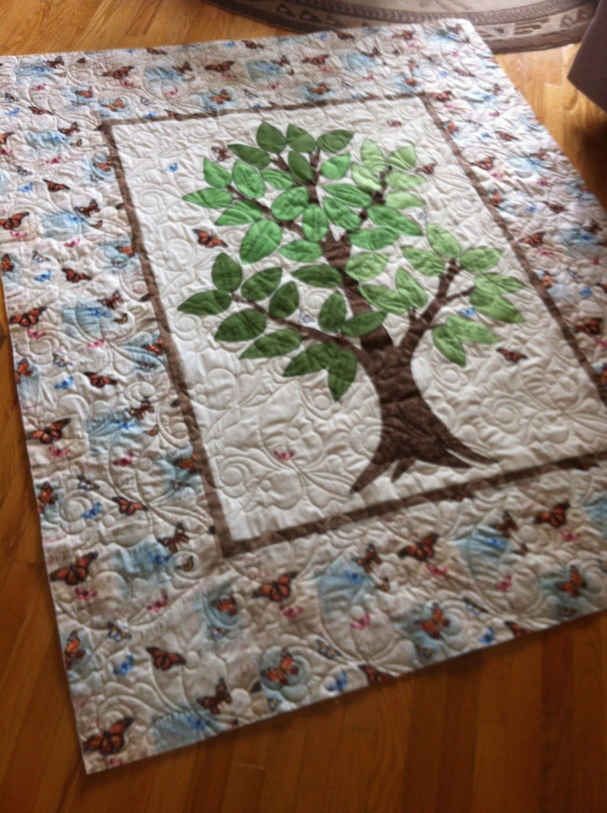 Magpie Quilts Family Tree Quilt Family Tree Quilt Tree