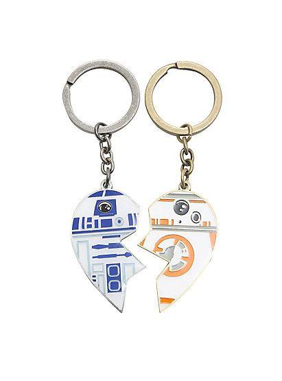 445c9c11b Star Wars Droids R2-D2 BB-8 Best Friends Forever Key ChainsStar Wars ...